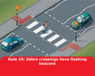 Zebra Crossings Have Flashing Beacons
